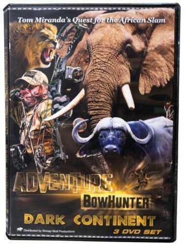Tom Miranda Adventure Bowhunter Dark Continent Africa DVD Set Model: 45750