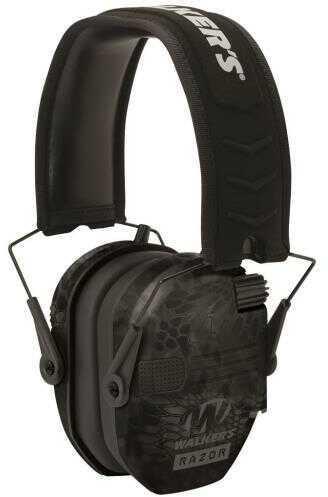 Walkers GWPRSEMKPT Razor Slim Folding Electronic Earmuff 23 dB Kryptek Highlander