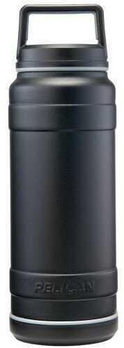 Model:  Finish/Color: Black Size: 32oz. Type: Food & Drink Storage Manufacturer: Pelican Model:  Mfg Number: TRAV-BO32-BLK