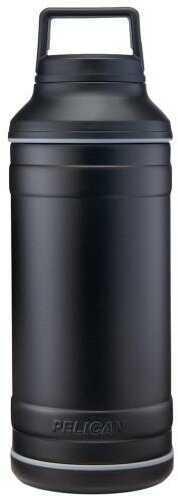 Model:  Finish/Color: Black Size: 64oz. Type: Food & Drink Storage Manufacturer: Pelican Model:  Mfg Number: TRAV-BO64-BLK