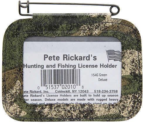 Rickards Single License Holder Camo Model: 154G