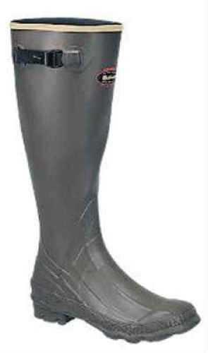 Lacrosse Grange Rubber Boots OD-Green 18In Size 10
