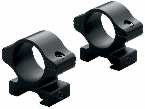 "Leupold Rings Rifleman 1"" DT High Black Detachable   Matte Black 55870"