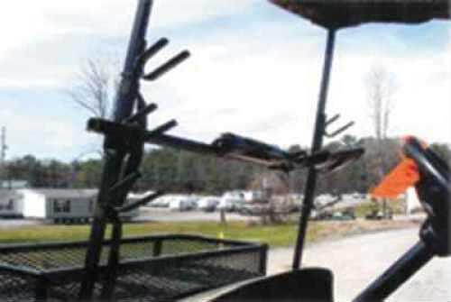 Miller Golf Cart Gun Carrier 3-Gun Horizontal For Golf Cart