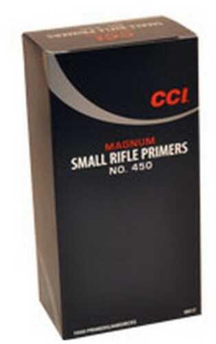 CCI #450 Magnum Small Rifle Primer (1000 Count)