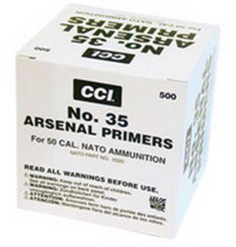 CCI #35 50 Caliber BMG Primer (500 Count)