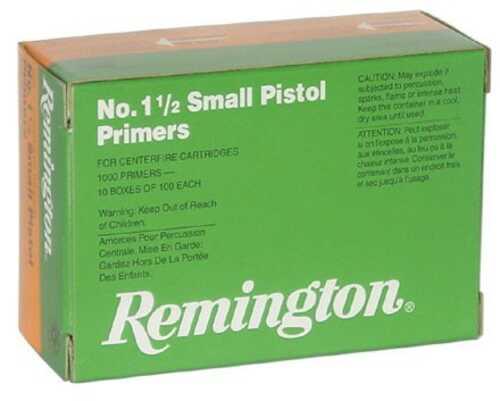 Remington 1 1/2 Small Pistol Primer (1000 Count)