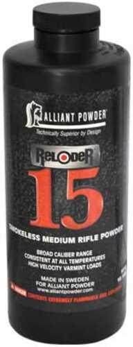 Alliant Powder Alliant Reloder 15 Smokeless Rifle Powder 1 Lb