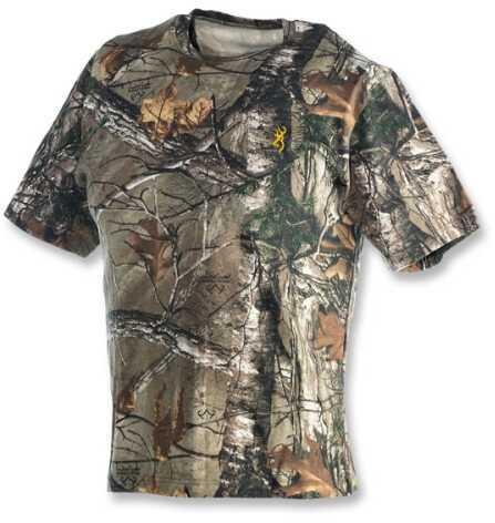Browning Wasatch Short Sleeve T-Shirt, Realtree Xtra Medium Md: 3011252402