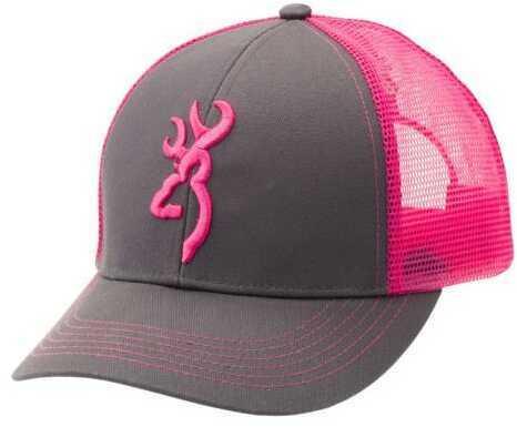 Browning Ladies Cap Flashback Charcoal/Neon Model: 308177771