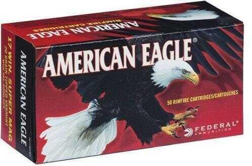 Federal American Eagle Ammo 17-Wsm 20 Grain 50Bx 10Bx/Case Model: AE17WSM1
