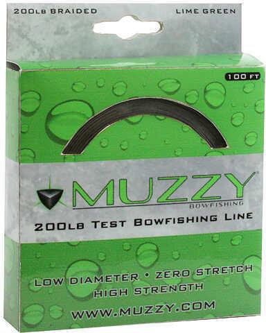 Muzzy ArcheryMuzzy 200# Bowfishing Line, 100 Feet Md: 1078