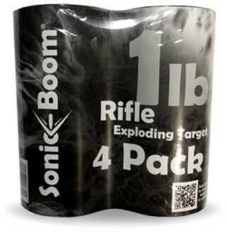 Sonic Boom TargetsSonic Boom Exploding Target 1Lb Rifle Target 4/Pack Model: SBT014P