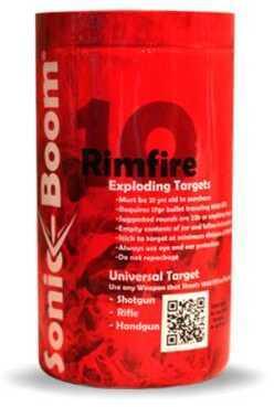 Sonic Boom TargetsSonic Boom Exploding Target Rimfire Targets 10/Pack Model: SBTRF