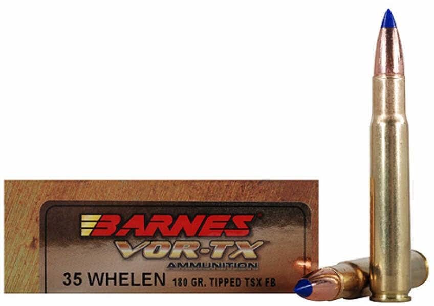 Barnes BulletsBarnes VOR-TX 35 Whelen 180 Grain Tipped Triple Shock X Lead Free 20 Round Box 21581