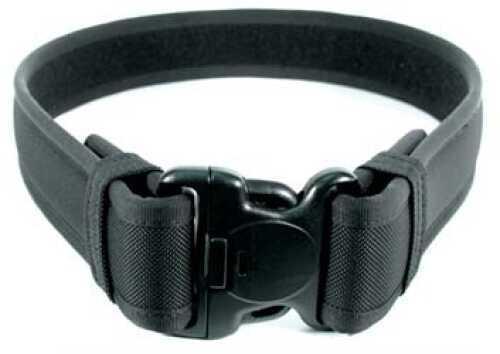 "BLACKHAWK! 2.25"" Ergonomic Padded Duty Belt Outer Belt with Hook & Loop Medium (32"" - 36"") Black 44B2MDBK"