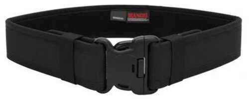 """Bianchi Model 7200 Duty Belt 2.25"""" 40-46"""" Large Nylon Black Finish 17382"""