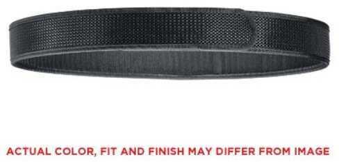 "Bianchi Model 7205 Liner Belt 1.5"" Size 40-46"" Large Hook and Loop Closure Nylon Black Finish 17708"