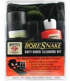 Boresnake Boresnake Field Cleaning Kit 38/357/9MM/380 Pistol Clam Pack 34002