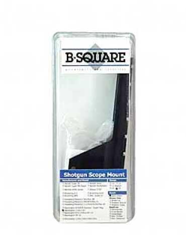 B-Square Saddle 1 Piece Base Matte Rings Rem 1100 20GA 16825