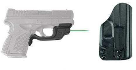 Crimson Trace Springfield Armory XD-S 4.0, 9mm/.45 ACP, Laserguard, Green, BTC Md: Lg-469G-HBT