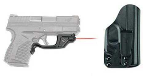 Crimson Trace Springfield Armory XD-S 4.0, 9mm/.45 ACP , Laserguard, Red, BTC Md: Lg-469-HBT