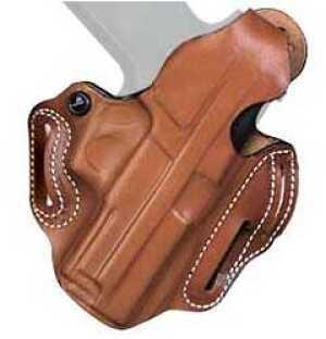 """Desantis Thumb Break Scabbard Belt Holster Fits 2"""" S&W K 10 12 13 15 19 66 67 Right Hand Tan 001TA12Z0"""