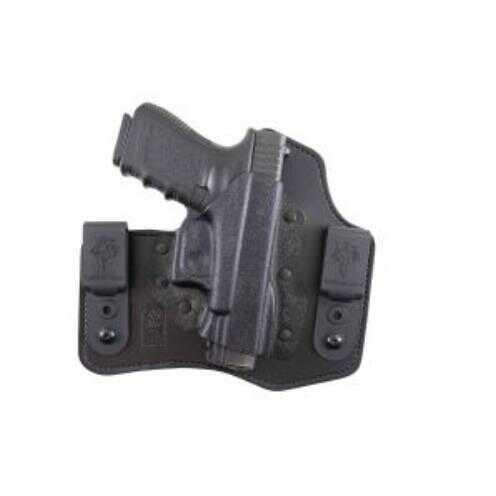 Desantis Mini Slide Belt Holster, Fits Glock 43, Right Hand, Tan Leather 792695329107