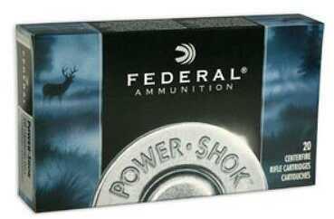Federal PowerShok 308 Win 150 Grain Copper Lead Free 20 Round Box 308150LFA