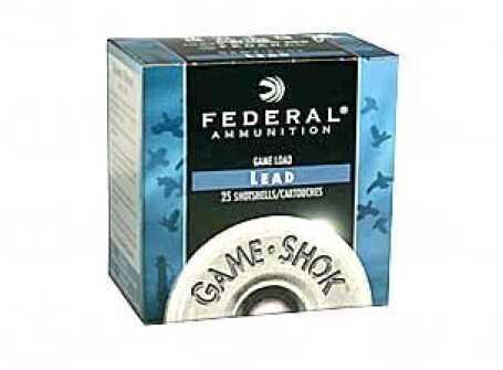 "Federal Game Load 12Ga 2.75"" #6 3.25 Dr 1Oz Shotshell 25H1216"