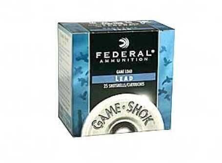 """Federal 20 Gauge Game Load Shot shells 2 3/4"""" 2 1/2 Dram 7/8Oz 7.5 Shot Per 25 Ammunition Md: H20075"""