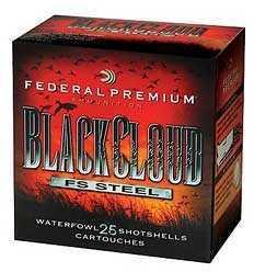 "Federal 12 Gauge Black Cloud 12 Gauge 3.5"" 1.5Oz #4 Per25 Ammunition Md: PWB1344"