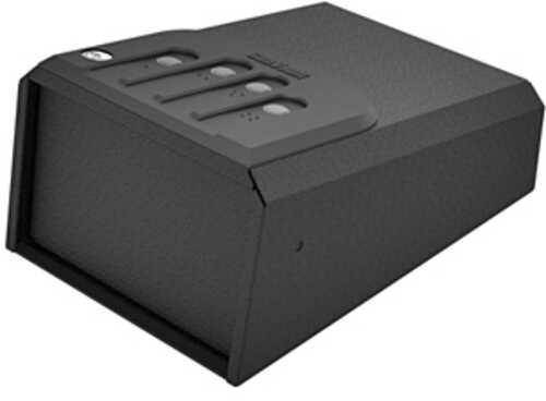 GunVault MiniVault Instant Access Safe Matte Black Backlit NoEyes Keypad Battery Not Included GV1050-19-STD