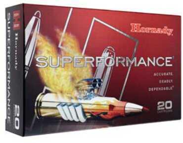 Hornady 300 Winchester Magnum Superformance 180 Grain GMX, Per 20 Md: 82196