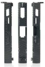 LanTac USA LLC RAZORBACK Light Slide Black Fits Glock 19 Gen 4 01-GS-GEN4-G19-LT