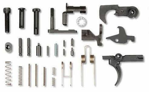 LBE Unlimited Lower Parts Kit 223 Rem/5.56 NATO Black Finish Without Trigger Guard or Pistol Grip ARK15LPK
