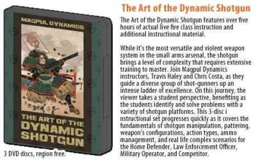 Magpul Industries DVD Art Of The Dynamic Shotgun Standard 3 Disc Set DYN005