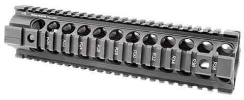 "AR-15 Midwest Industries Generation 2 Forearm Black Built-In QD PoInts 4-Rail Handguard Carbine 10"" MCTAR - 24G2"