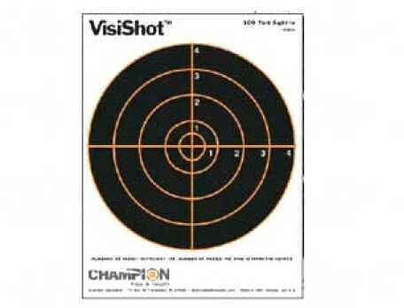 Champion Visishot Targets 100 Yard Sight In 10 Pack Md: 45802