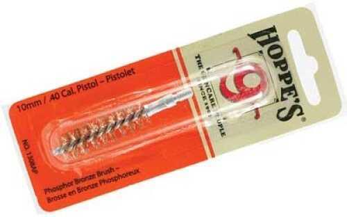 Hoppes Phosphor Bronze Brush 10mm/.40 Caliber Pistol Md: 1308AP