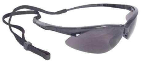 Radians Outback Glasses Black Frame Smoke Lens With Cord OB0120CS