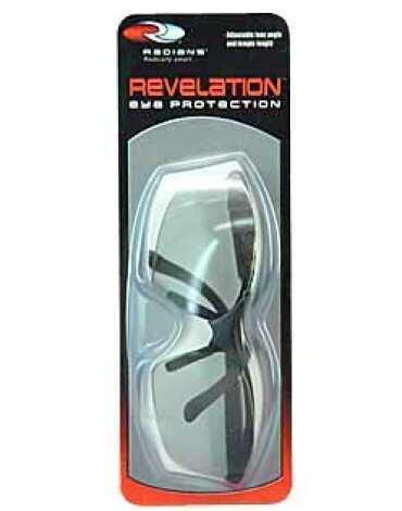 RadiansRadians Revelation Glasses Black Frame Clear Rv01G0Cs