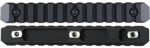 Seekins Precision M-LOK 13 Slot Rail Section Aluminum Black Finish 0010560083