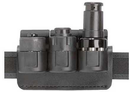 Safariland Model 333 Triple Speed Loader Fits SLJ-K2S Black 333-3-2-175