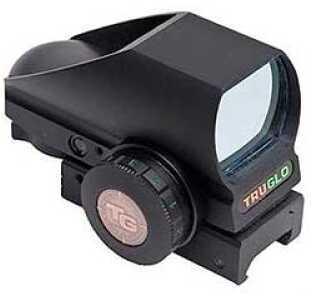 Truglo Tru-Brite Red Dot Picatinny Black 8 Reticle Choices, Dual Color Reticle Illumination, Innovative Compact Design T