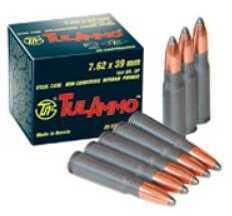 TulAmmo USA Steel Case 7.62X39 124 Grain Full Metal Jacket 40 Round Box UL076209