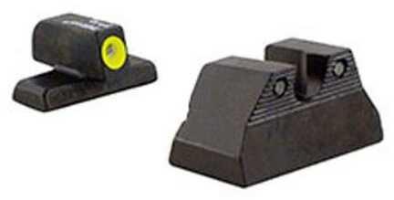 Trijicon HD Night Sights, Fits H&K USP Compact, Ye