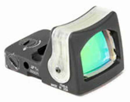 Trijicon Ruggedized Miniature Reflex Sight, Flat Dark EarthFinish, Dual llumination, 7 MOA, Amber Dot Rm04-C-700165