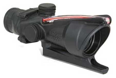 Trijicon ACOG Rifle Scope 4X 32 Red Dual Illum Triangle Matte BAC Ta31A