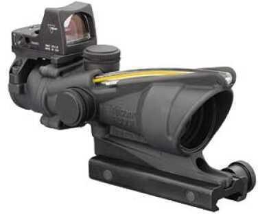 Trijicon ACOG Rifle Scope 4X 32 Amber Crosshair .223 Matte 3.25 MOA RMR/Ta51 Mnt Ta31RMR-A